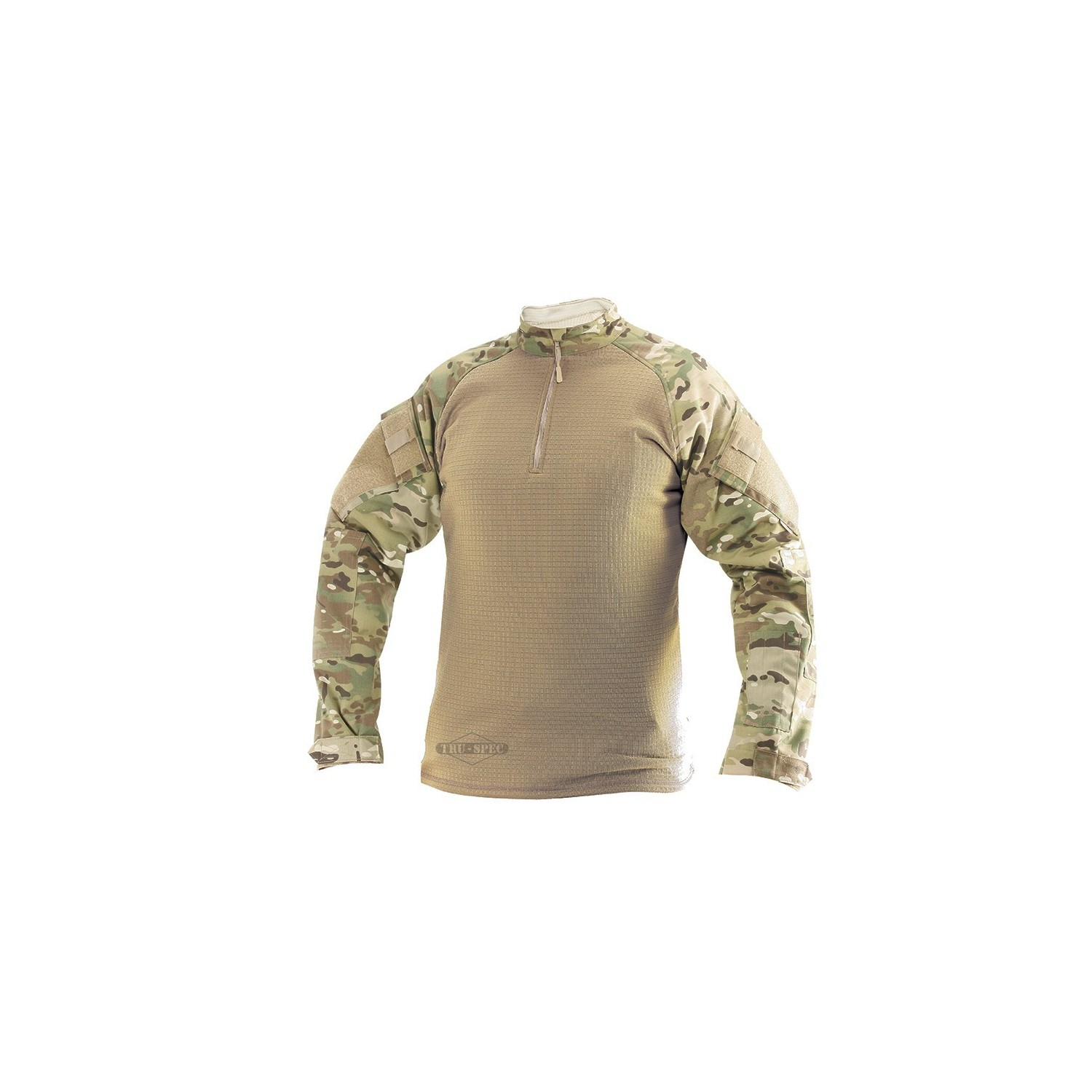 COMBAT SHIRT COLD WEATHER MUKTICAM 1/4 ZIP