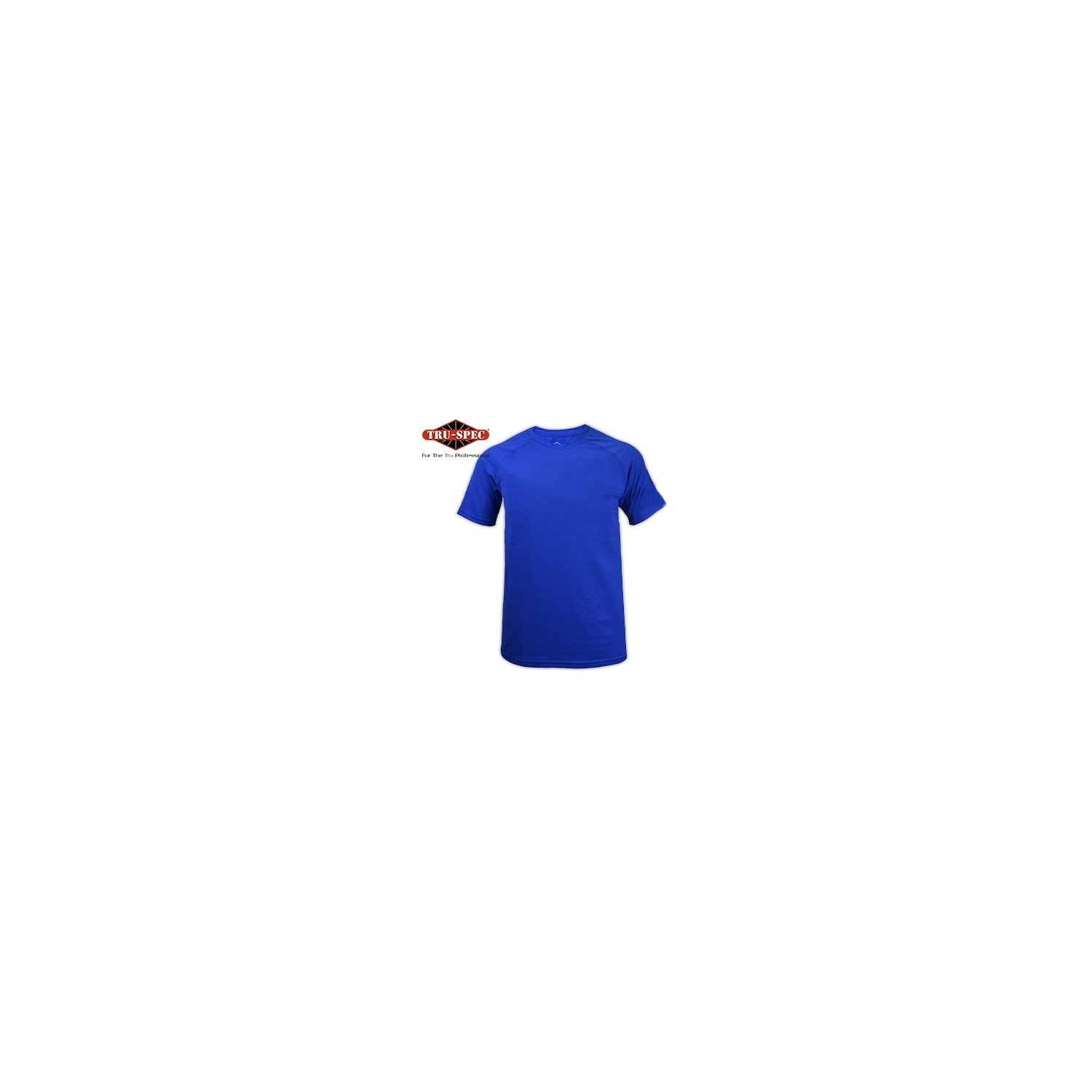 POLERA DRY FIT II, SS, ROYAL BLUE